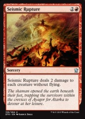 Seismic Rupture