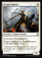 Dragon Hunter - Foil on Channel Fireball