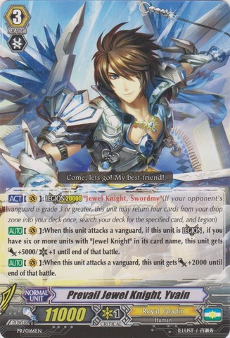 Prevail Jewel Knight, Yvain - PR/0166EN - PR