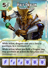 Half-Dragon - Paragon Humanoid (Card Only)