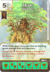 Treant - Paragon Beast (Card Only)