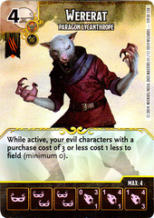 Wererat - Paragon Lycanthrope (Card Only)