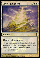 Day of Judgment Foil - (Zendikar Buy-a-Box)