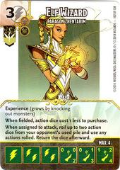 Elf Wizard - Paragon Zhentarim (Die & Card Combo)