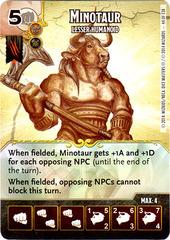 Minotaur - Lesser Humanoid (Die & Card Combo)