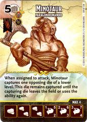 Minotaur - Paragon Humanoid (Die & Card Combo)