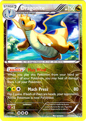 Dragonite - 51/108 - Rare - Reverse Holo