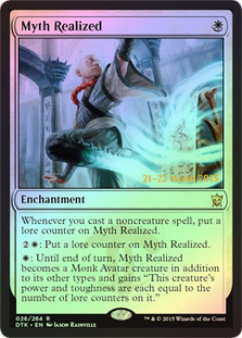 Myth Realized - Foil - Prerelease Promo