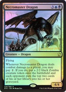 Necromaster Dragon - Foil - Prerelease Promo