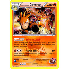 Team Magma's Camerupt - 2/34 - Holo Rare on Channel Fireball