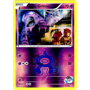 Team Aqua's Grimer - 7/34 - Common - Reverse Holo