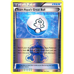 Team Aqua's Great Ball - 27/34 - Uncommon - Reverse Holo