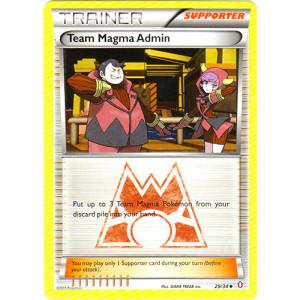 Team Magma Admin - 29/34 - Uncommon