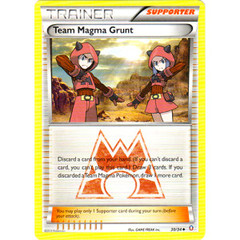 Team Magma Grunt - 30/34 - Uncommon on Channel Fireball