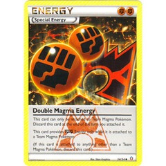 Double Magma Energy - 34/34 - Uncommon on Channel Fireball