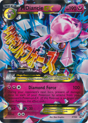 Mega-Diancie-EX - XY44 - Mega Diancie-EX Premium Collection Oversized Promo