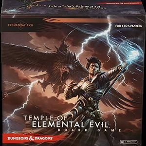 Temple of Elemental Evil Board Game