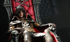 Captain Harlock with Throne of Arcadia