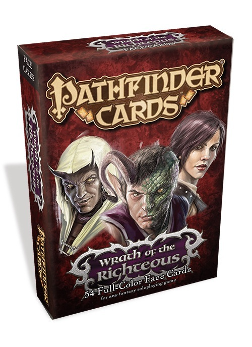 Pathfinder Cards: Wrath of the Righteous Face Cards