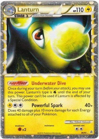 Lanturn (Prime) - 86/95 - Ultra Rare