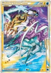 Raikou and Suicune LEGEND (Both Halves) - 92+93/95 - Rare Holo Legend