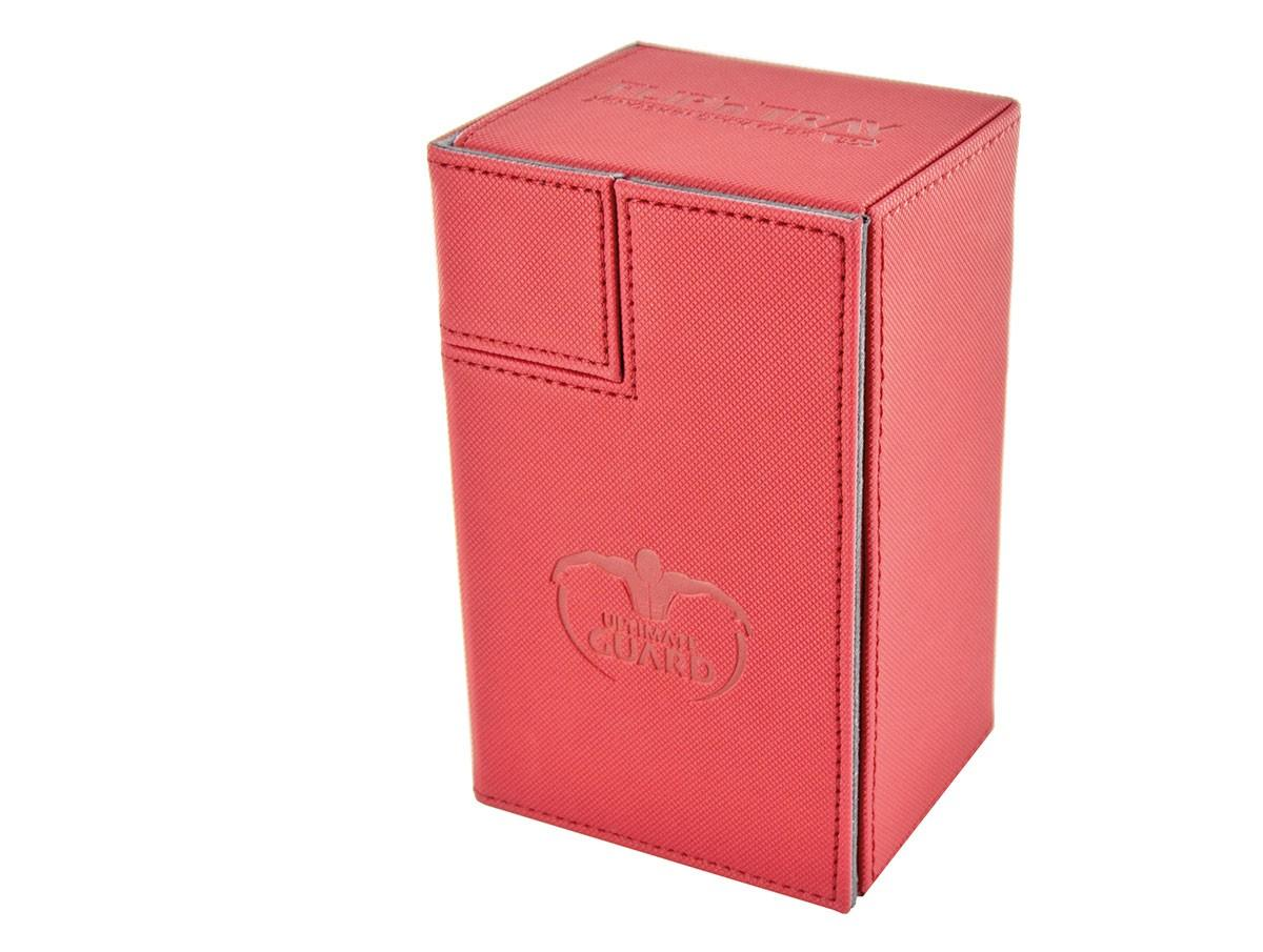 Ultimate Guard FLIPnTRAY DECK CASE 80+ - red