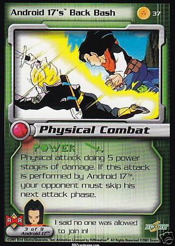 Android 17's Back Bash