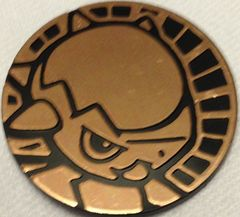 Bronze Cranidos Collectable Coin