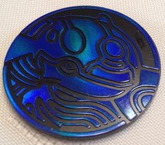 Blue Kyogre Collectable Coin
