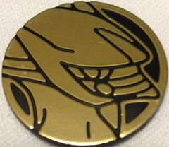 Gold Arceus Collectable Coin