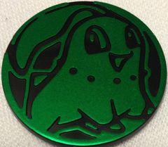 Green Chikorita Collectable Coin
