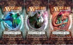 3x Magic 2011 (M11) Booster Pack
