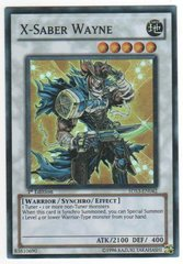 X-Saber Wayne - 5DS3-EN042 - Super Rare - 1st Edition on Channel Fireball