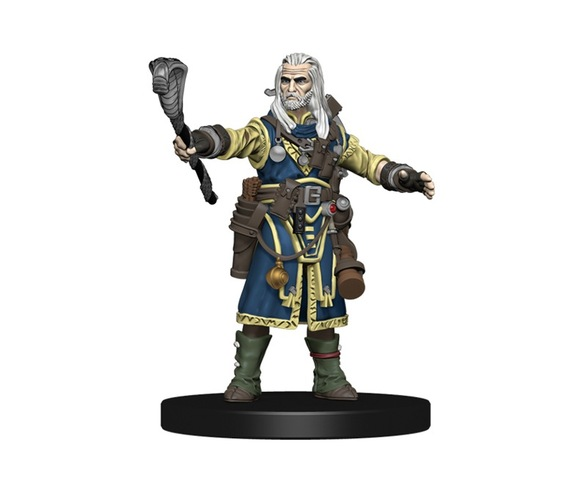 Ezren, Human Wizard - Pathfinder Miniatures (Painted