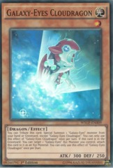 Galaxy-Eyes Cloudragon - WSUP-EN009 - Super Rare - 1st Edition