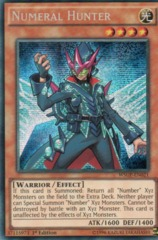 Numeral Hunter - WSUP-EN021 - Prismatic Secret Rare - 1st Edition