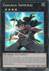 Gagaga Samurai - WSUP-EN027 - Super Rare - 1st Edition on Channel Fireball