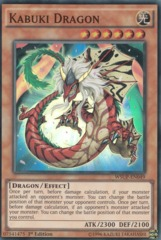 Kabuki Dragon - WSUP-EN049 - Super Rare - 1st Edition on Channel Fireball