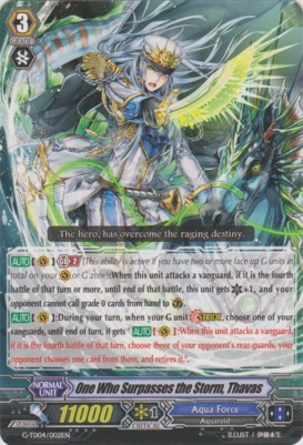 One Who Surpasses the Storm, Thavas - G-TD04/002