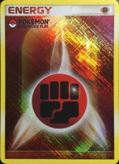 Fighting Energy - 2009 Unnumbered - Promotional - Crosshatch Holo Pokemon Organized Play