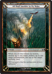 All Shall Smolder in My Wake on Channel Fireball