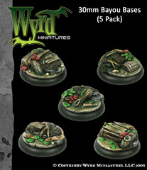 30mm Bayou Bases (5 Pack)