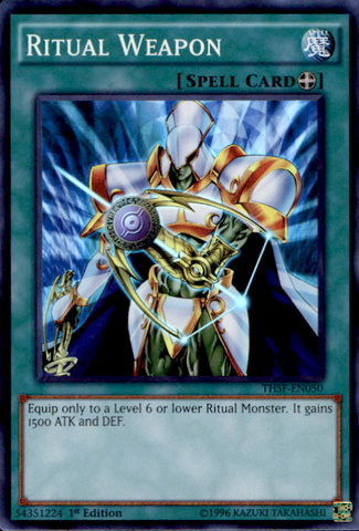 Ritual Weapon - THSF-EN050 - Super Rare - Unlimited Edition