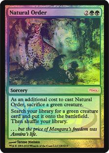 Natural Order (Judge Foil)