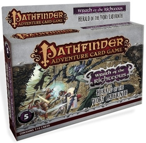 Pathfinder Adventure Card Game: Wrath of the Righteous Adventure Deck 5 – Herald of the Ivory Labyrinth