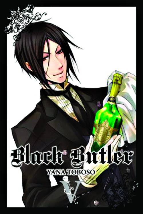 BLACK BUTLER TP VOL 05 NEW PTG