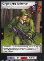Greenshirt Rifleman, Joe Recruit