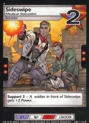 Sideswipe, Medical Specialist