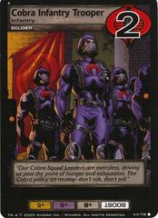 Cobra Infantry Trooper, Infantry