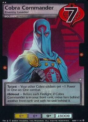 Cobra Commander, Enemy Leader
